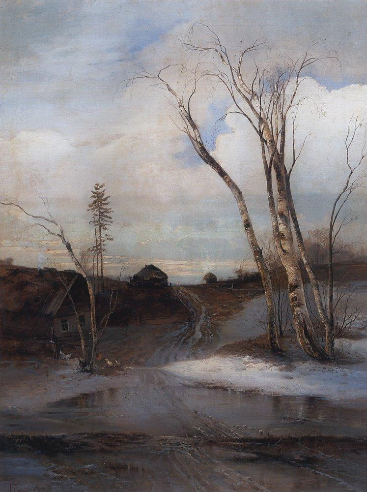 Весна. Конец 1870-х - начало 1880-х
