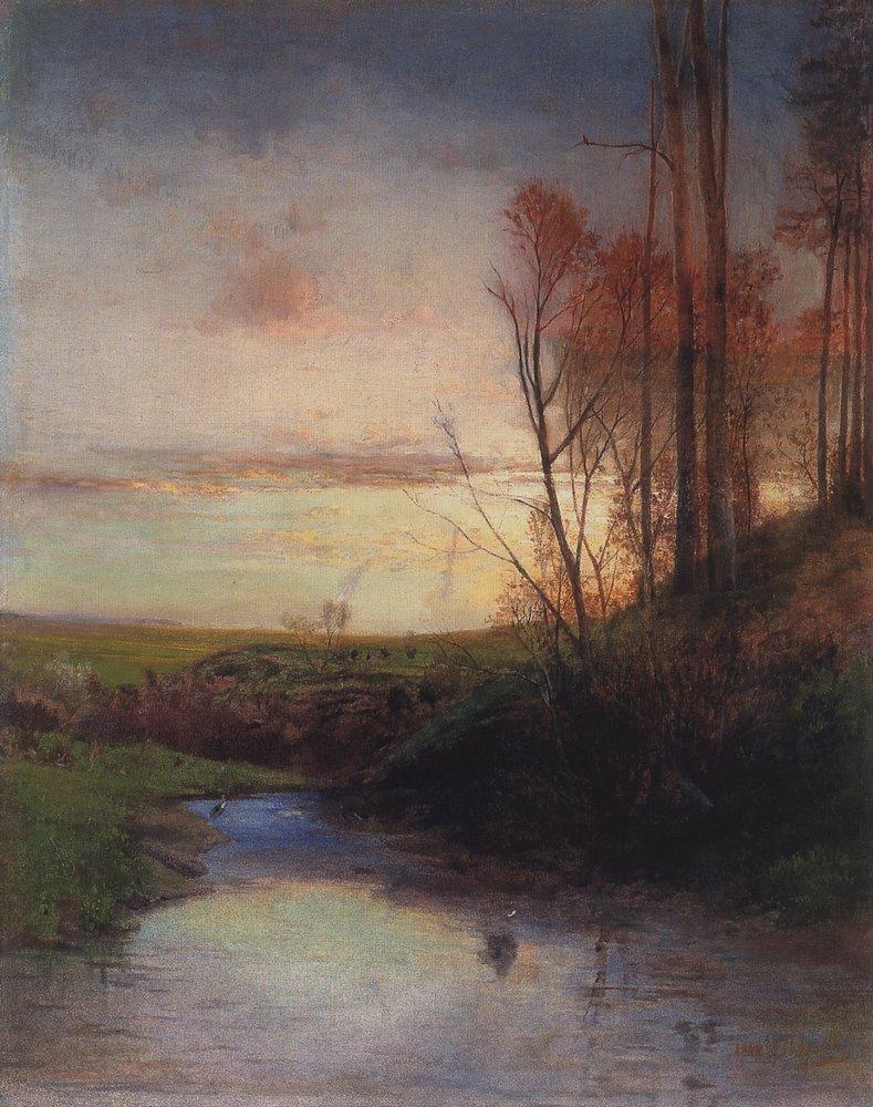 Вечер. 1880
