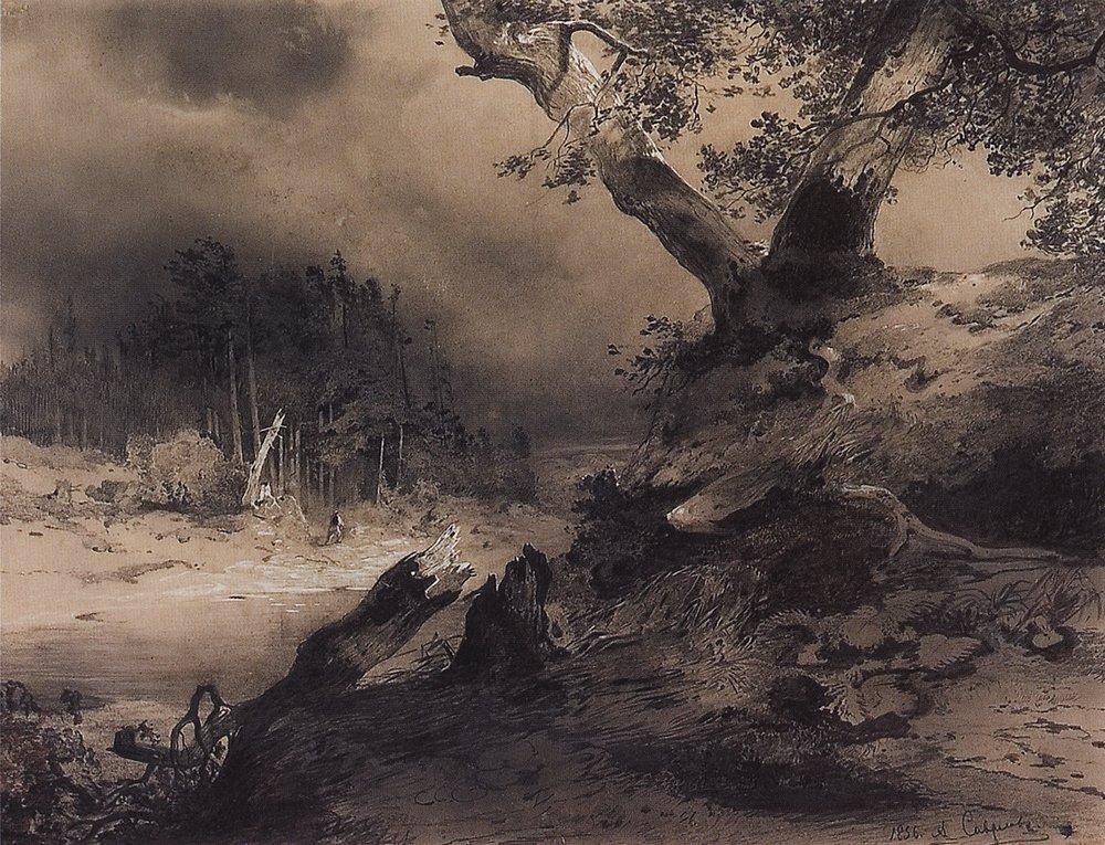 Гроза. 1856