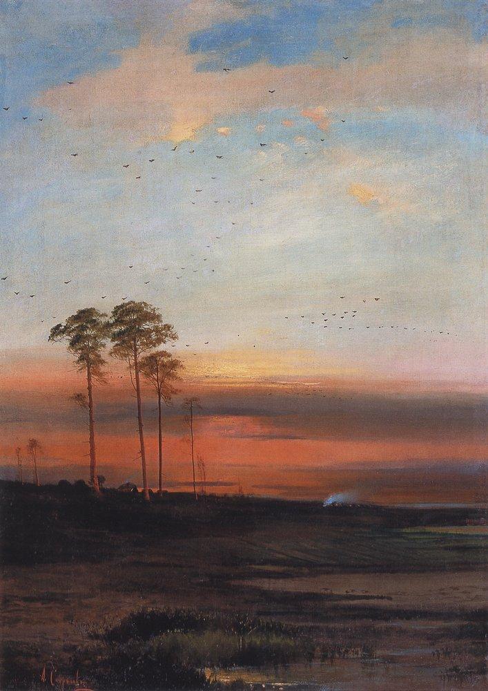 Закат. Начало 1870-х