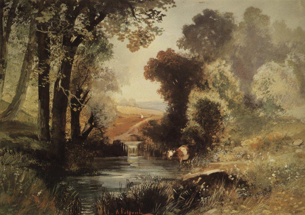 Летний пейзаж. 1860-е