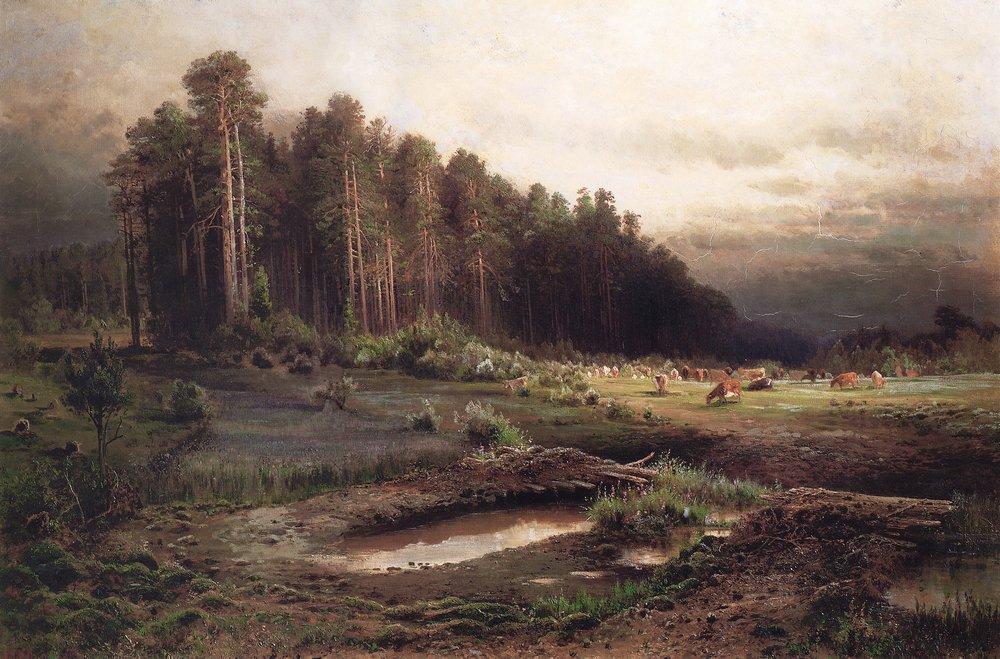 Лосиный остров в Сокольниках2. 1869