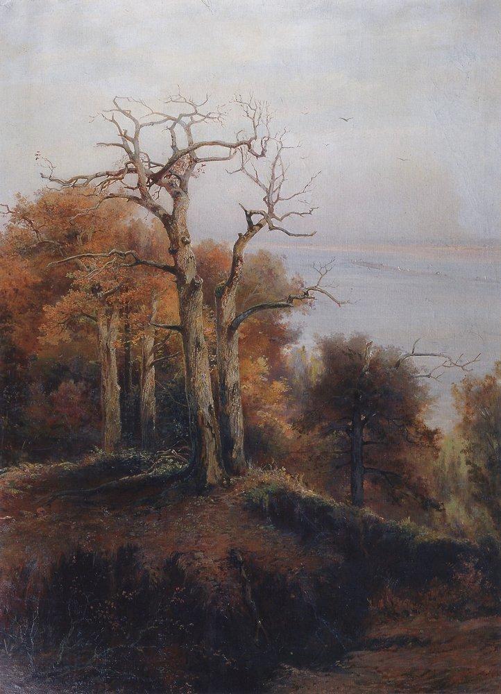 Осенний лес. Кунцево. Проклятое место. 1872
