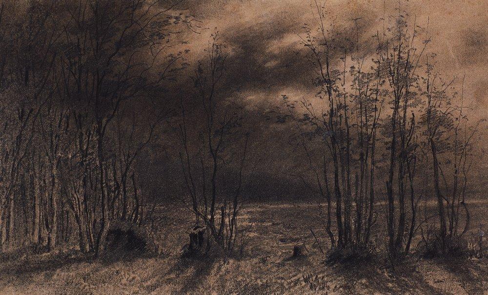 Осенняя ночь. 1872