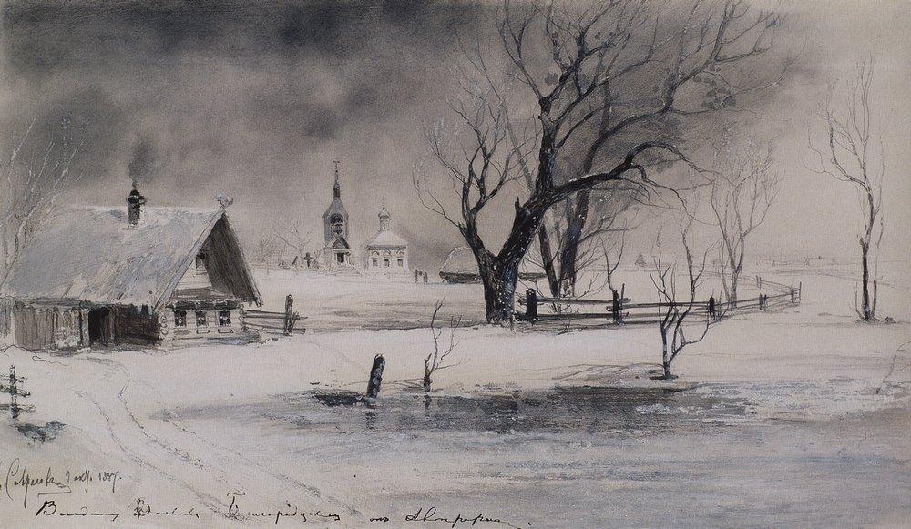 Оттепель. 1887