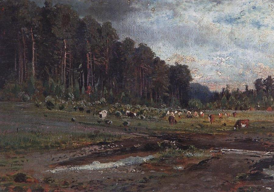 Лосиный остров в Сокольниках1. 1869