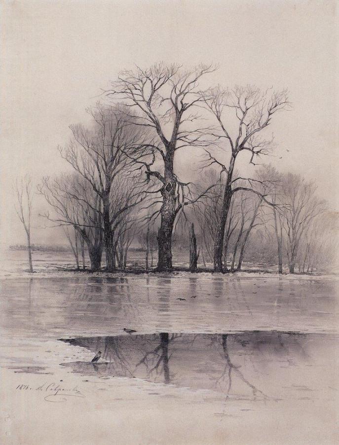 Начало весны. 1876