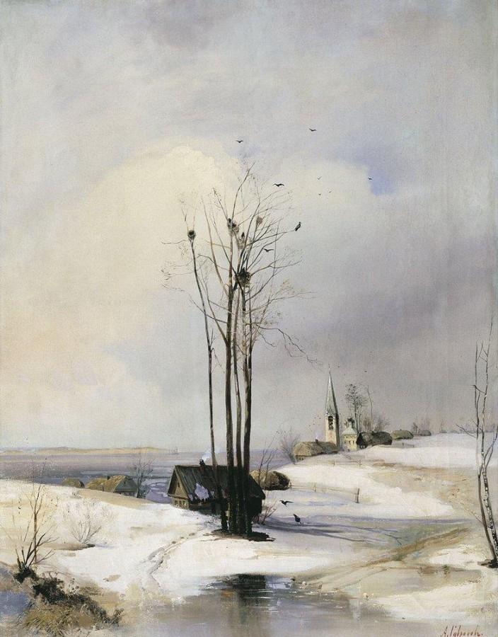 Ранняя весна. Оттепель. 1880-е
