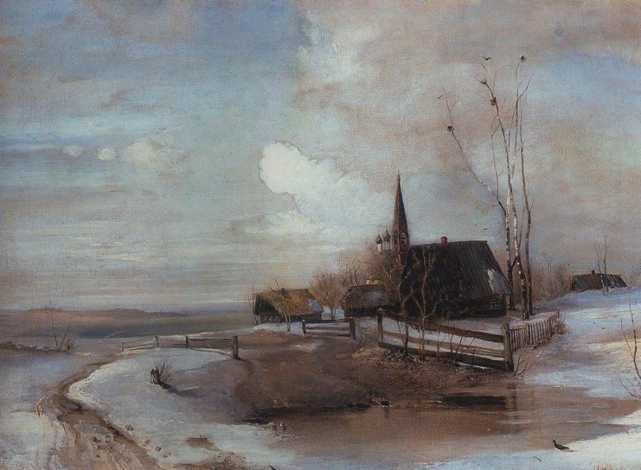 Ранняя весна2. 1880-е