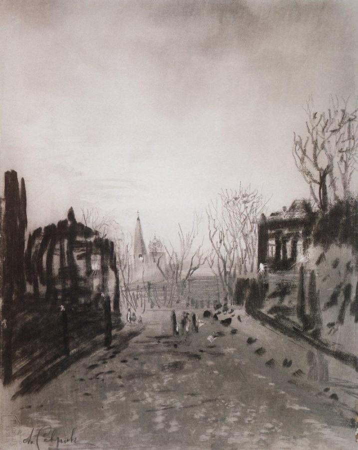 Сумерки. Пейзаж. 1880-е