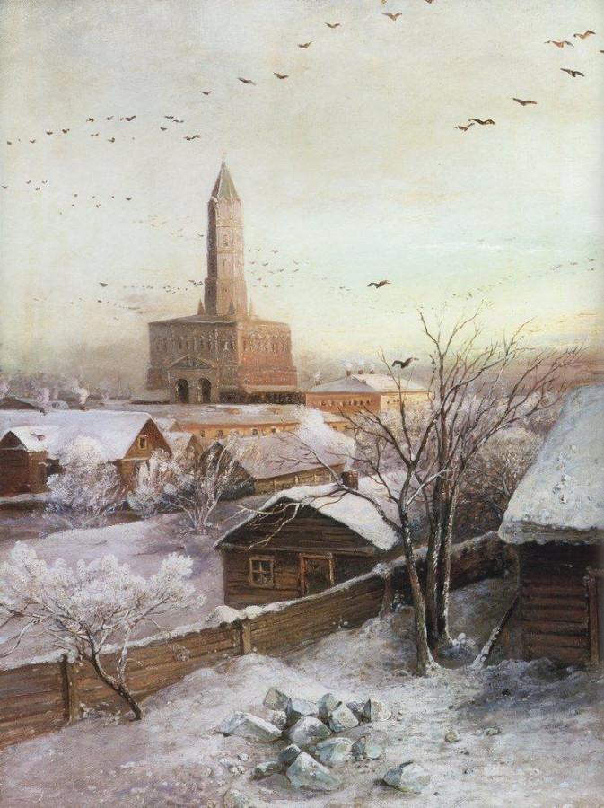 Сухарева башня. 1872