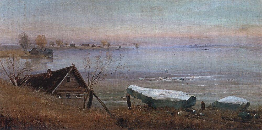 Весна. На большой реке. 1880-е