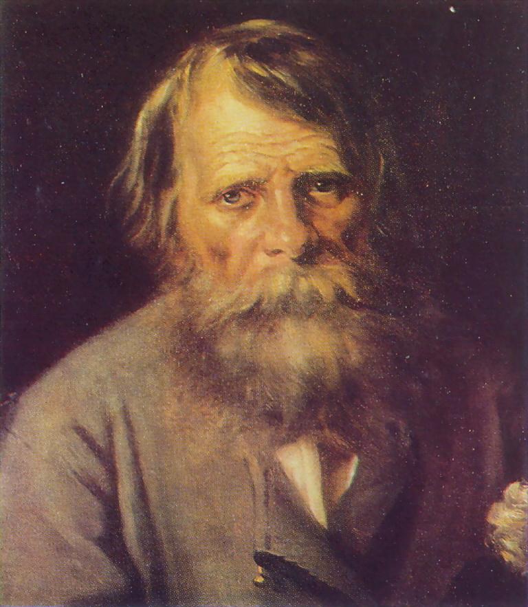 Мужской портрет. Х., м. Псков