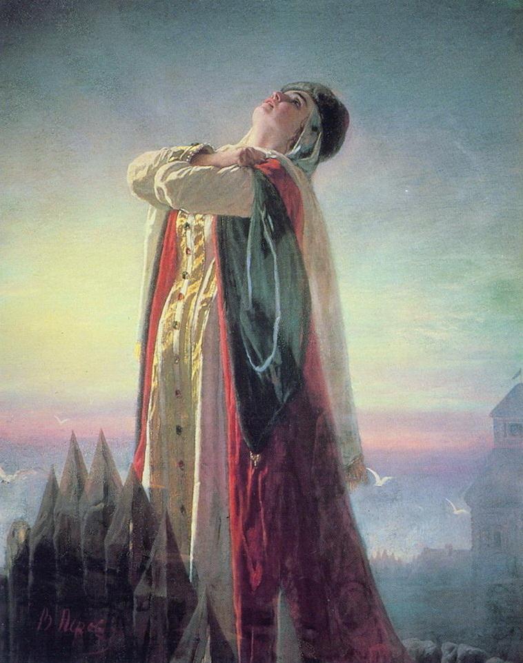Плач Ярославны. 1881