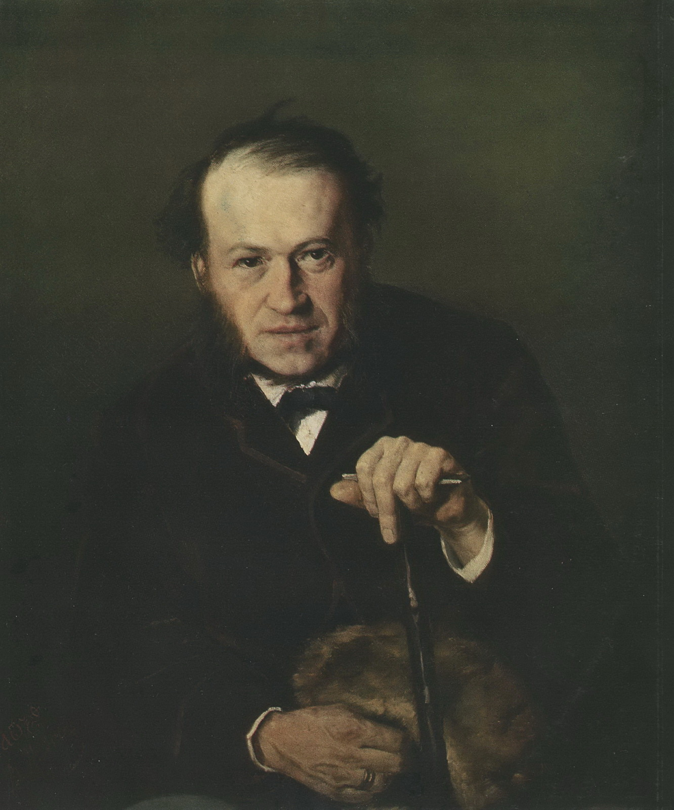Портрет В.В.Безсонова. 1869 Х., м. 74х62,5 ГТГ