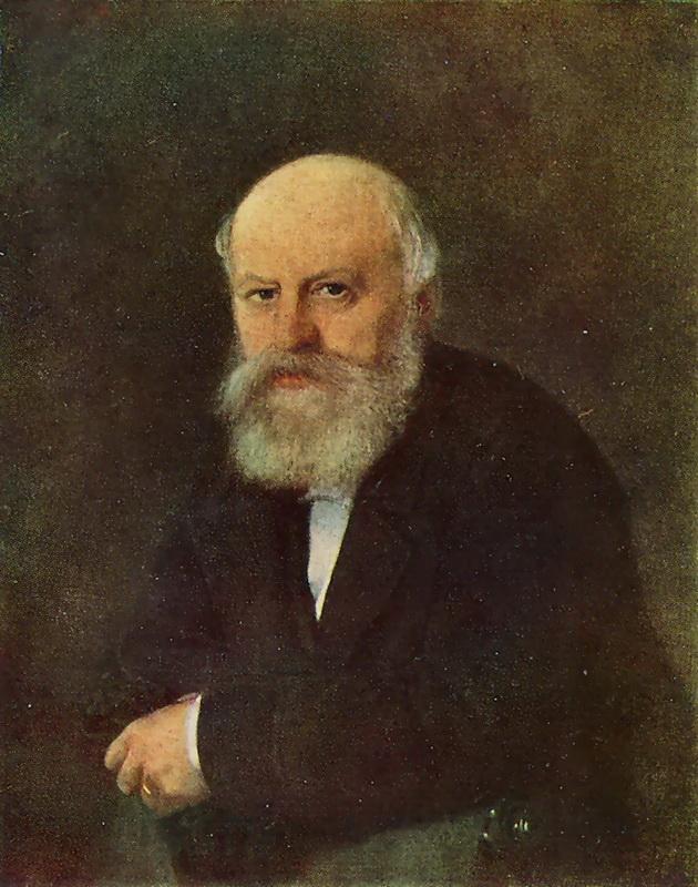 Портрет композитора П.С. Кампиони. 1872 г. Астрахань