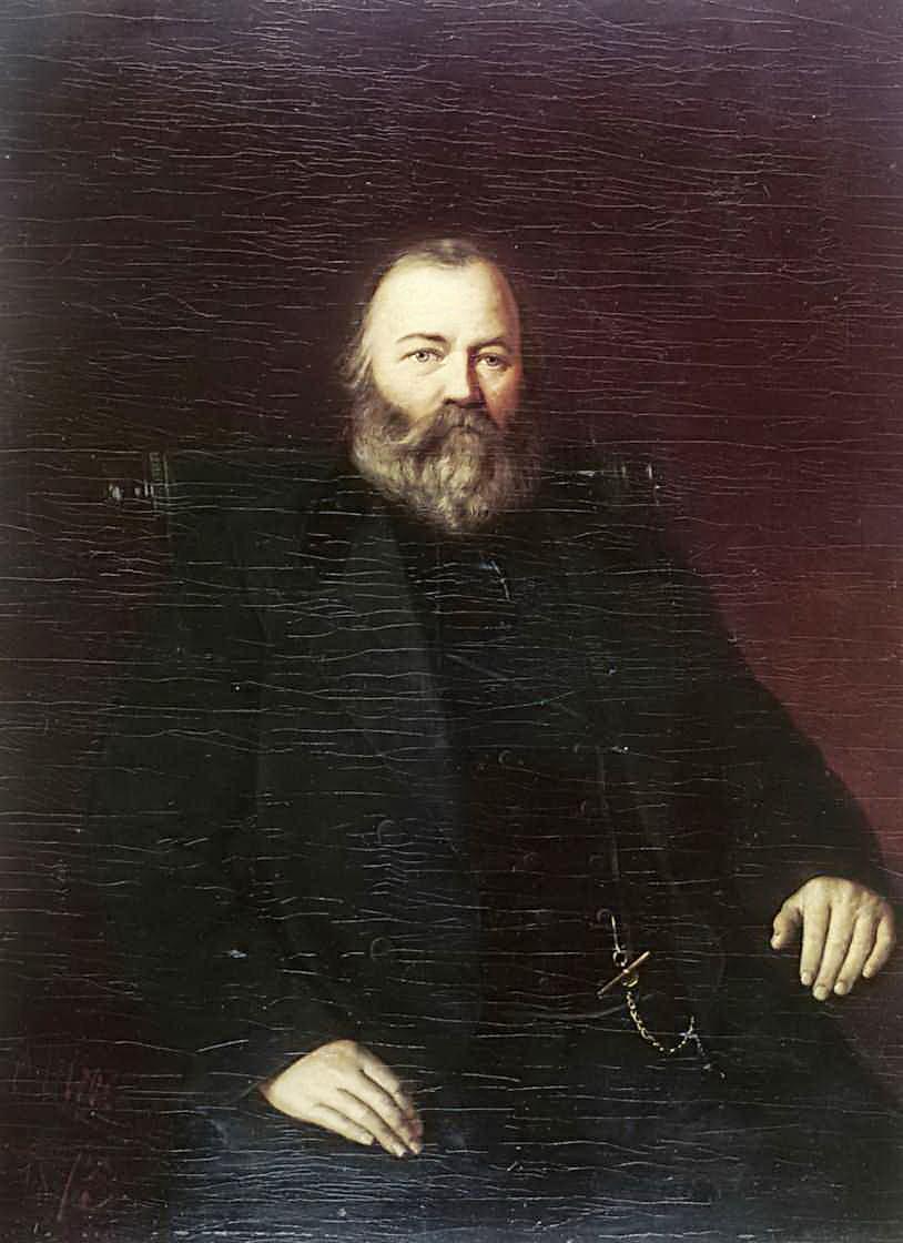 Портрет купца С.Т.Кузнецова. 1873