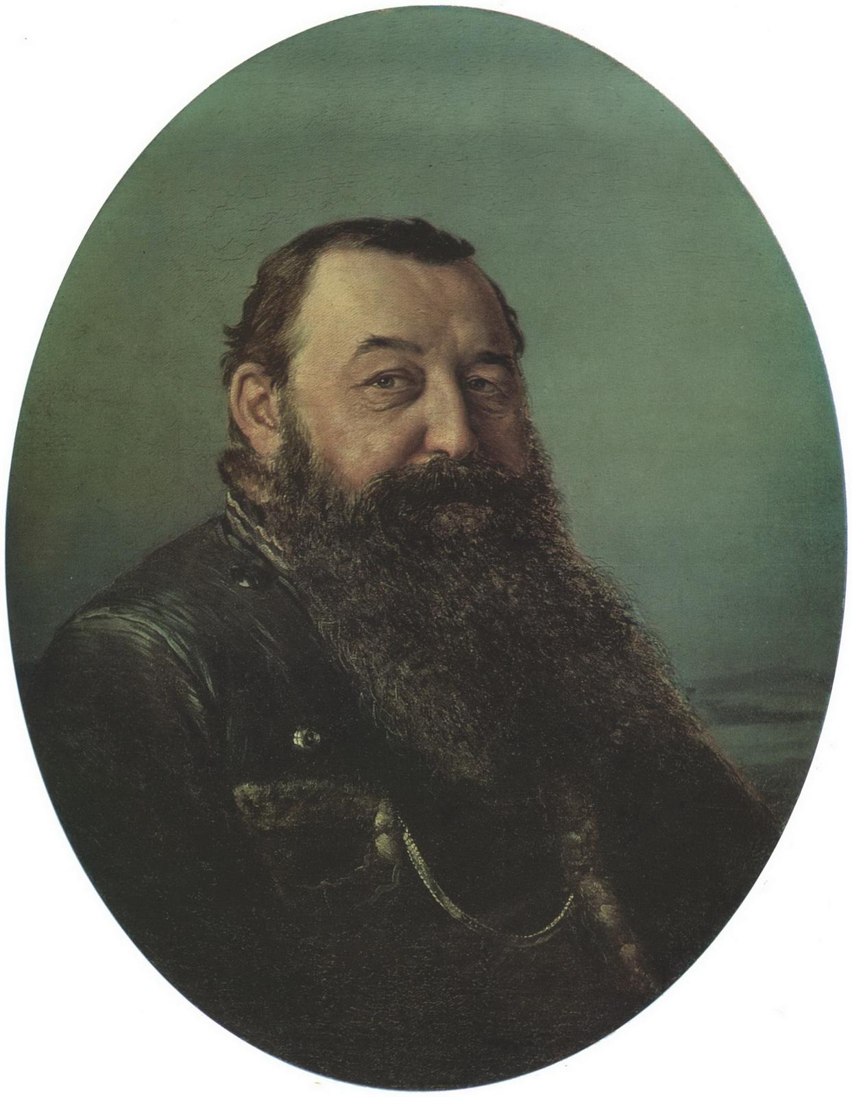 Портрет Н.Ф.Резанова. 1868 Х., м. 63х53 Челябинск