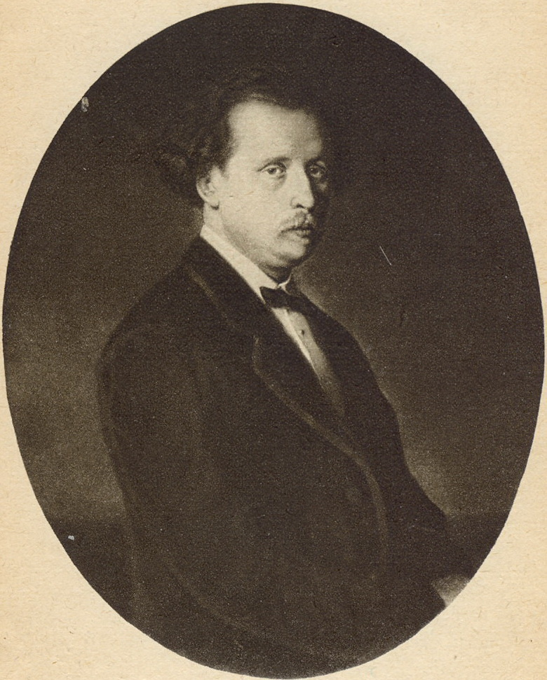 Портрет Николая Григорьевича Рубинштейна. 1870 Х., м. 102.5х79 ГТГ