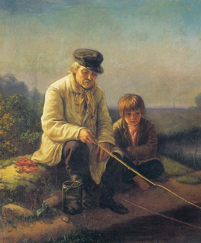 Рыбная ловля. 1887 ГРМ