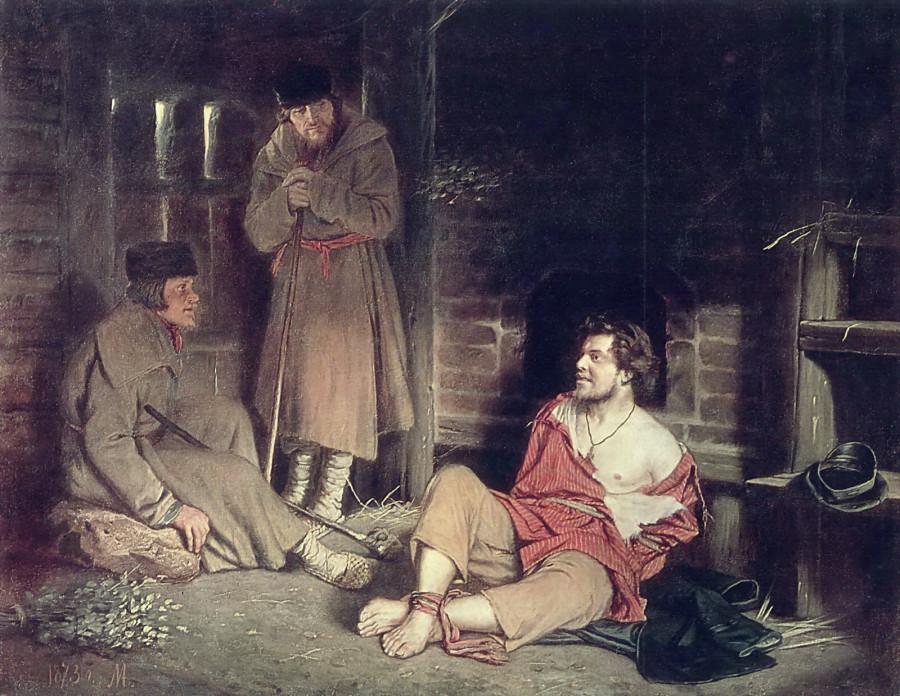 1 Отпетый. 1873 Х., м. 87,5х113 ГИМ