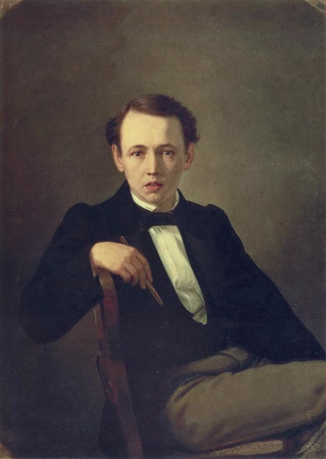 Автопортрет. 1851 Х., м. 77х59,5 КМРИ