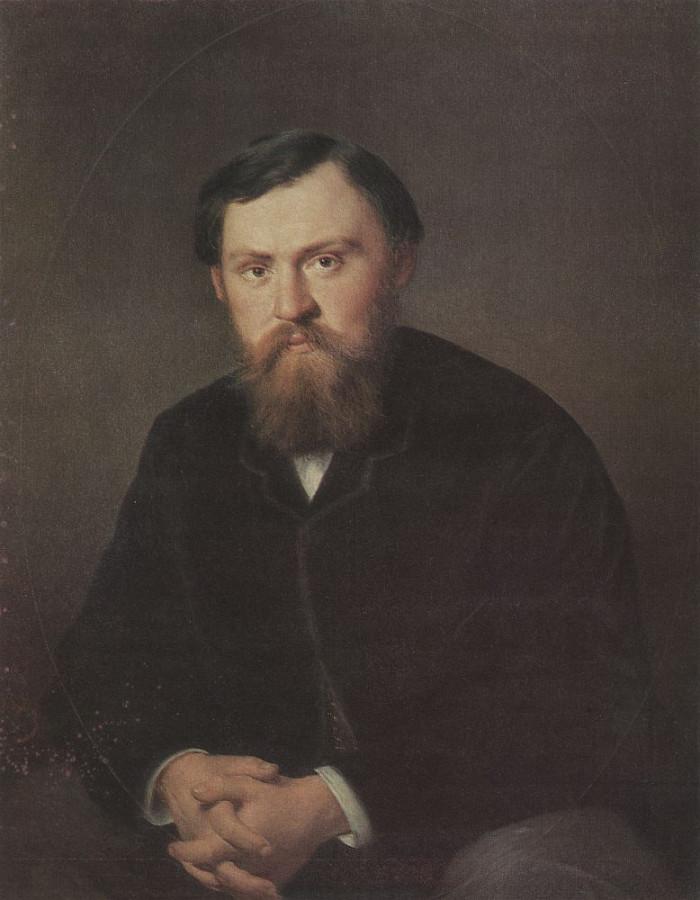 Портрет А.А,Борисовского. 1869 Х., м. 89х71 ГРМ