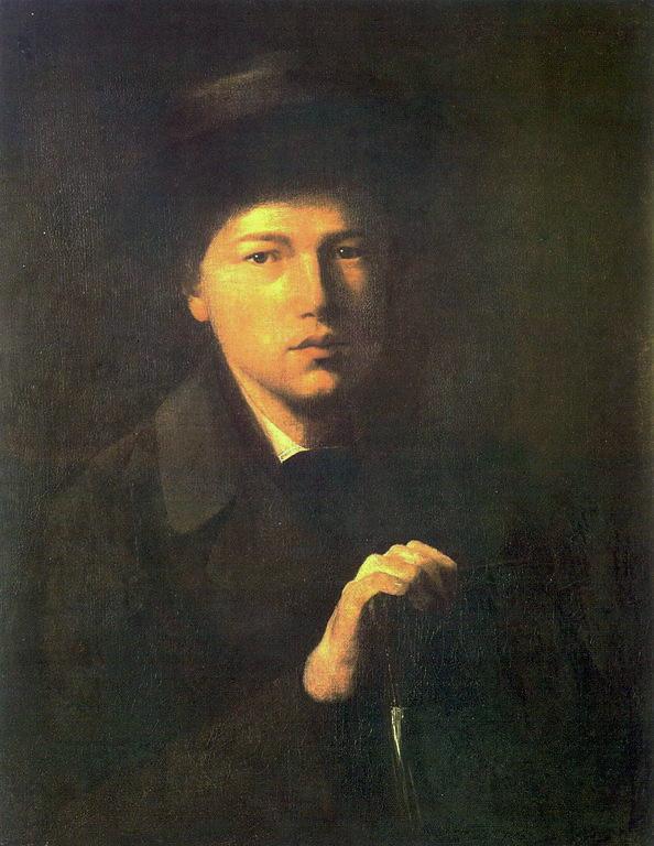 Портрет Н.Г.Криденера, брата художника. 1856 Х., м., 62.3x51 ГРМ