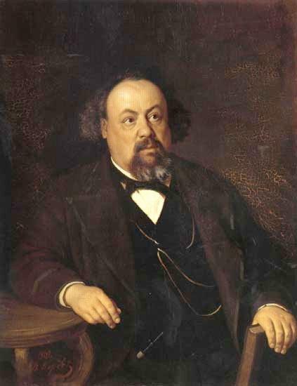 Портрет писателя А.Ф. Писемского. 1869