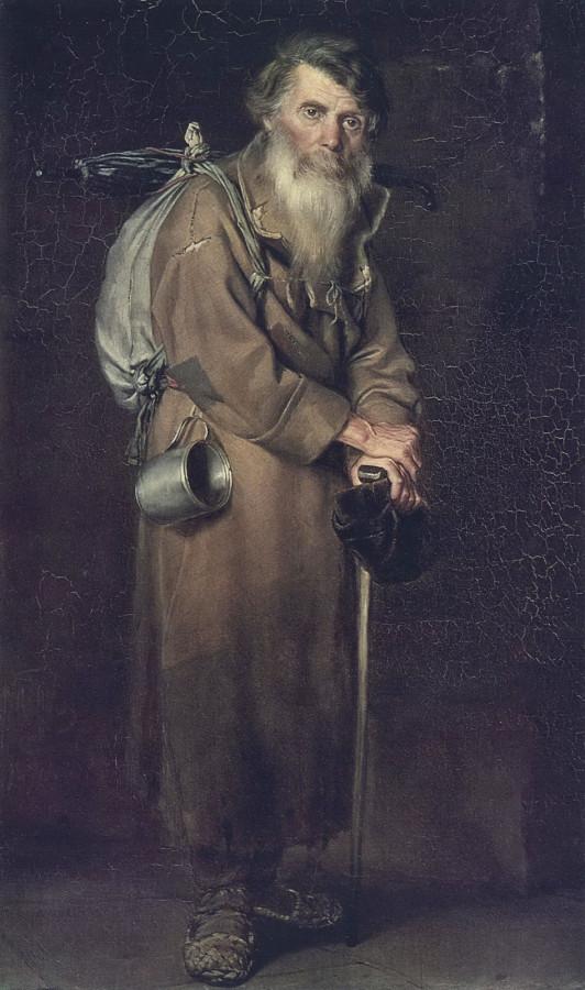 Странник. 1870 Х., м. 88х54  ГТГ