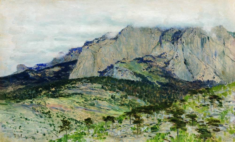 Ай-Петри. 1886