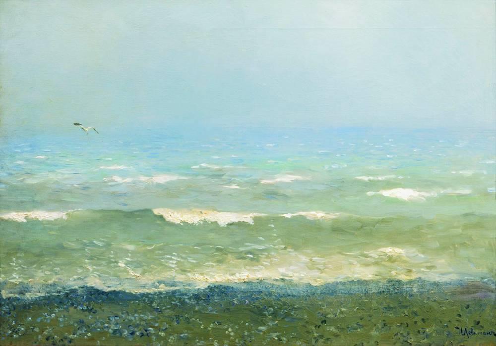 Берег Средиземного моря. 1890