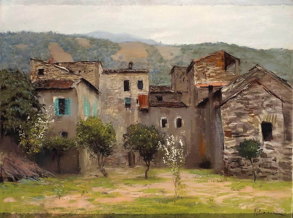 Близ Бордигеры. На севере Италии2. 1890