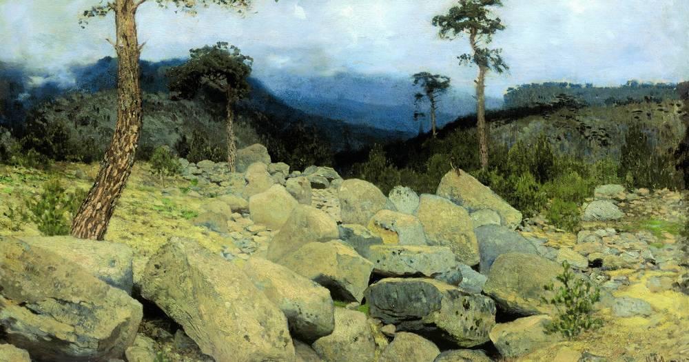В крымских горах1. 1886