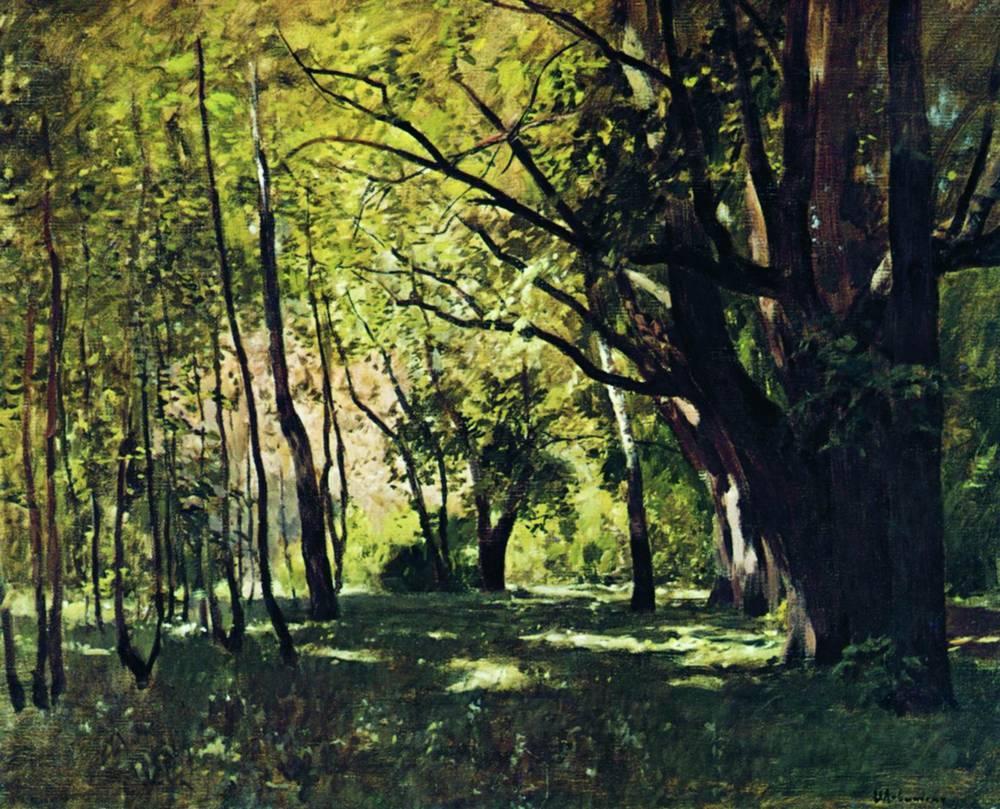 В парке1. 1895