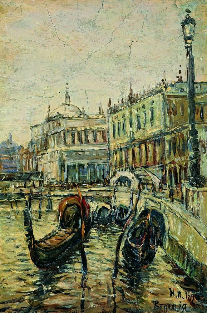 Венеция. Рива дельи Скьявони. 1890