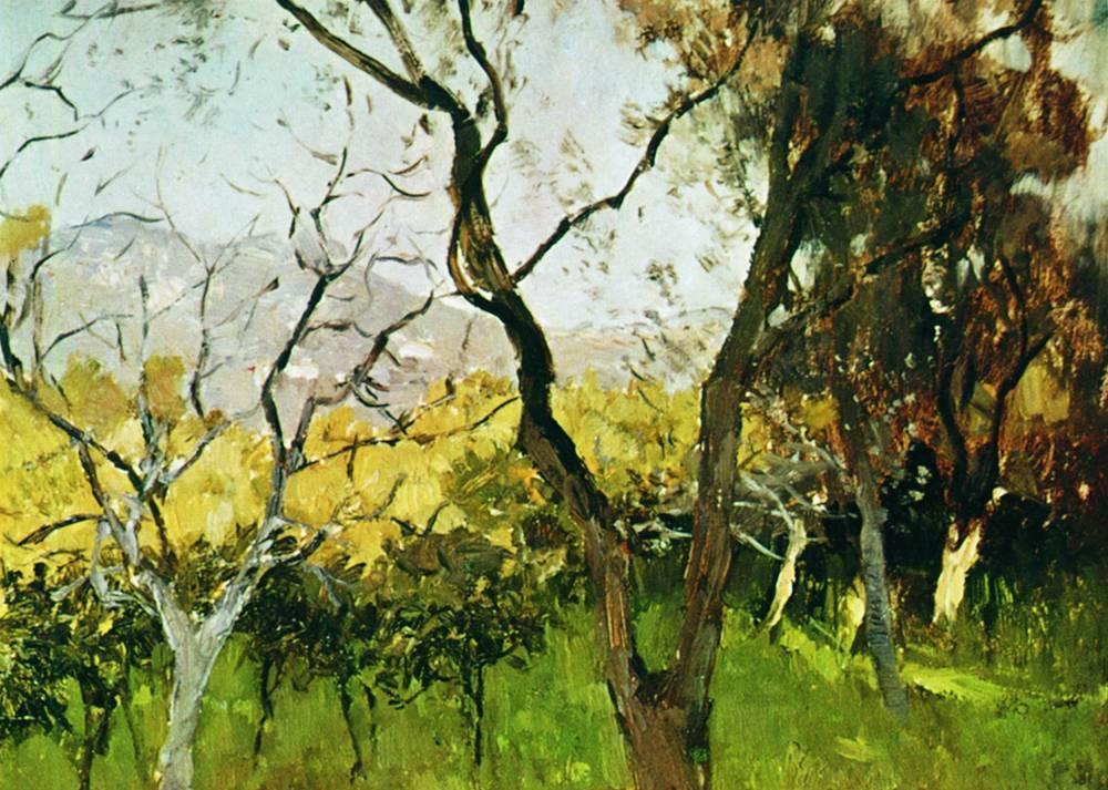 Весна в Крыму1. 1900