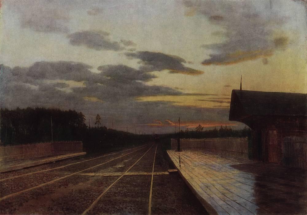 Вечер после дождя. 1879