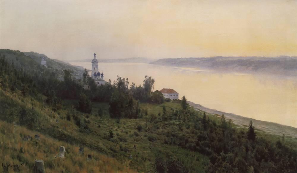 Вечер. Золотой Плёс2. 1889