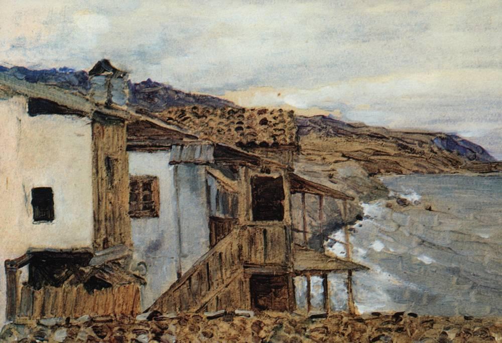 Вид на море. 1886