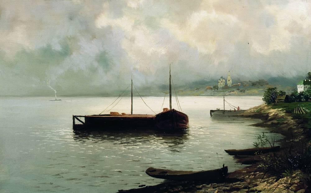 Волга. 1889