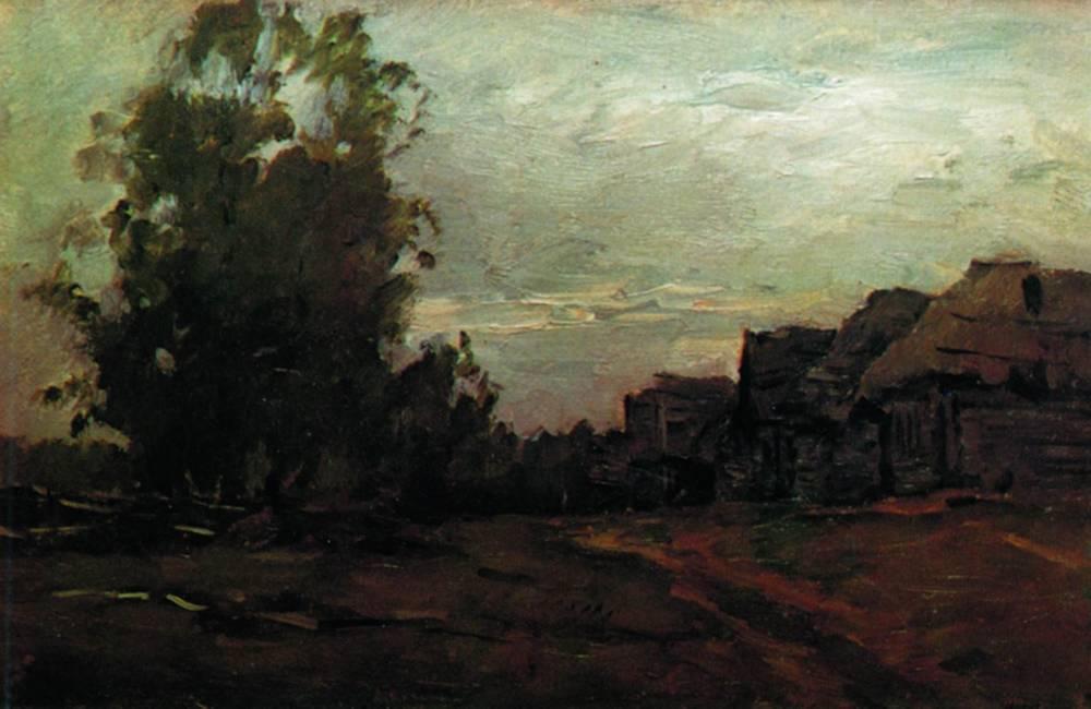Деревня. Сумерки. 1897