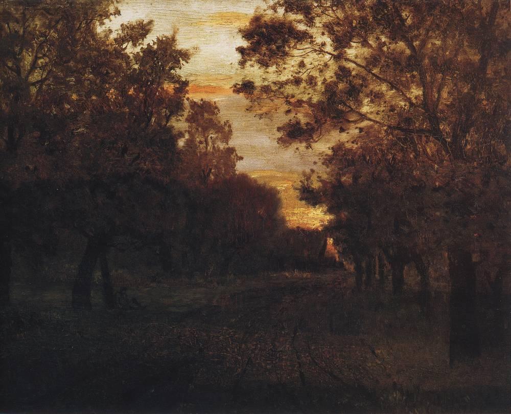 Дорога в лесу. 1881