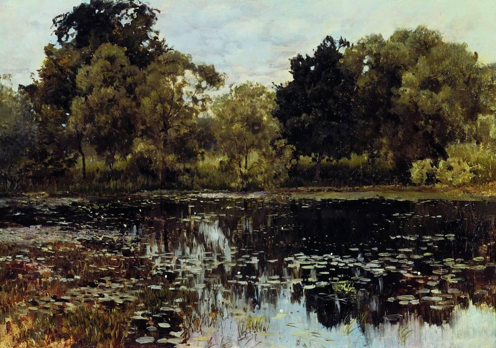 Заросший пруд2. 1887