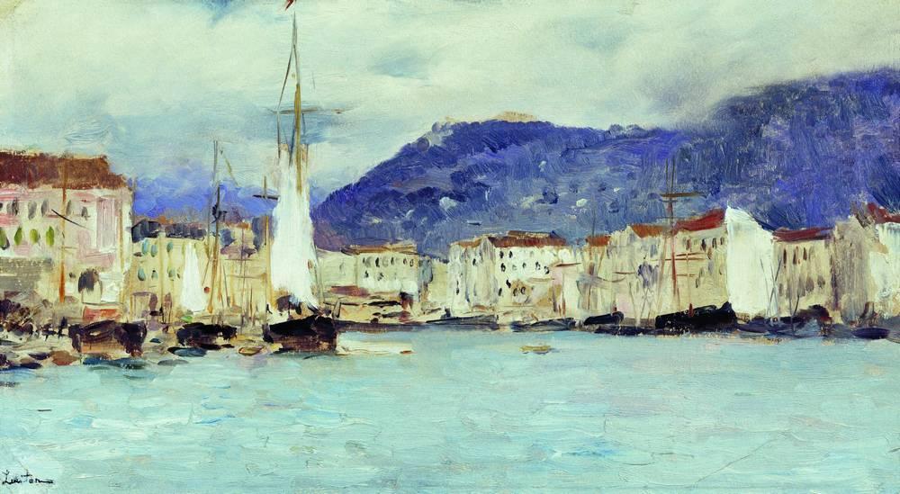 Итальянский пейзаж. 1890