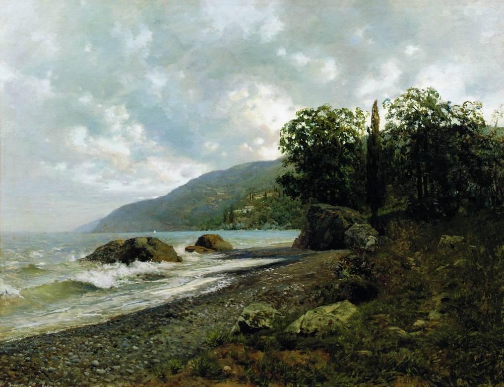 Крымский пейзаж. 1887