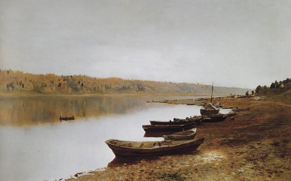 На Волге. 1887-1888