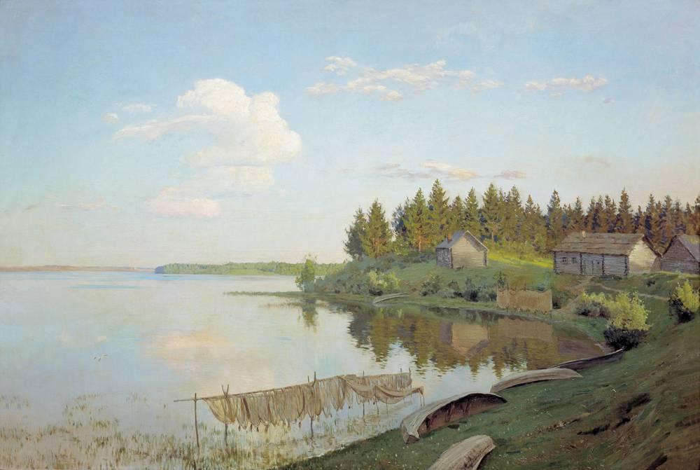 На озере (Тверская губерния). 1893