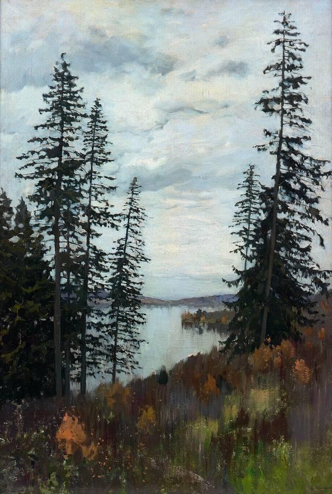 На севере. 1896
