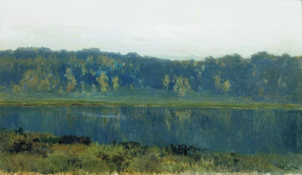 Осеннее утро. Туман. 1887